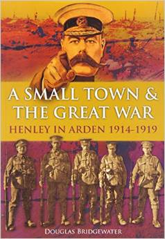 image of the book a small town and the Great War