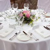image of wedding table setting